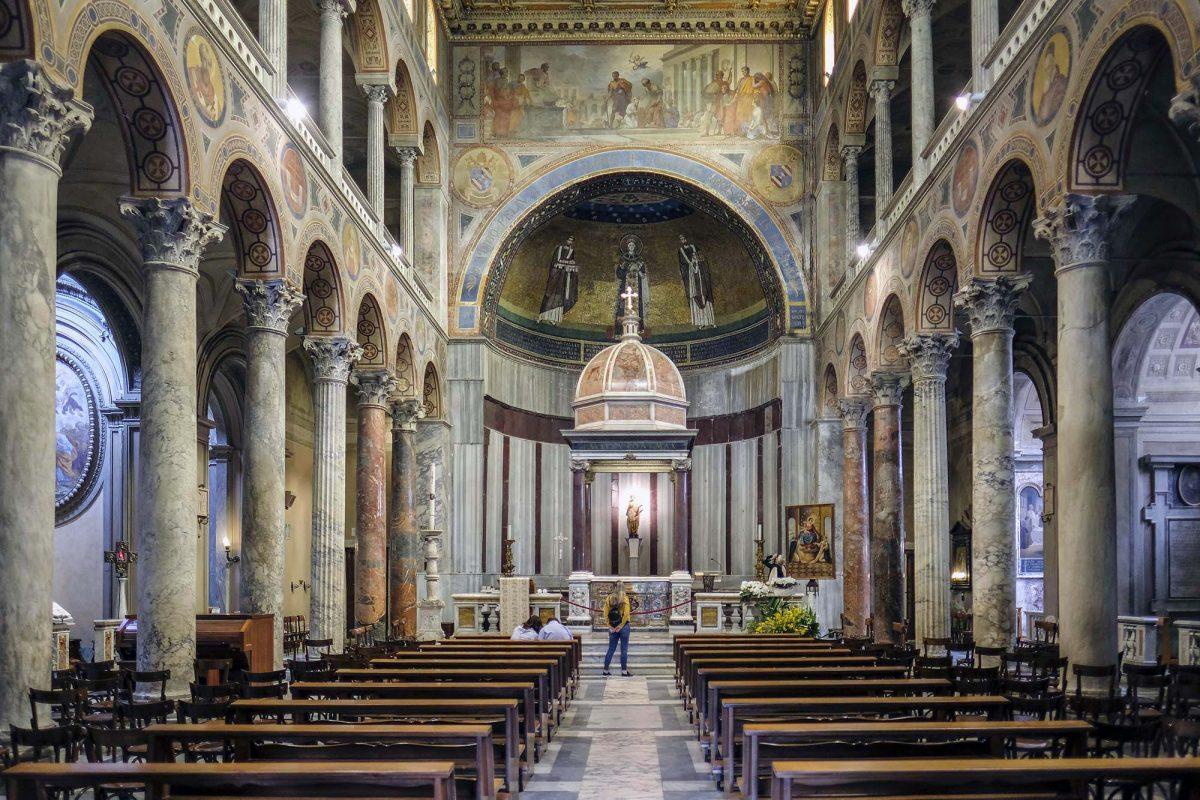 Santa Agnese church, Rome