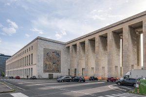 Italy-Rome. Fascist architecture