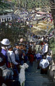 Sacrificial Hindu temple in Nepal