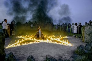 Celtic Full Moon ceremony